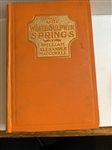 "1917 BOOK ""THE WHITE SULPHUR SPRINGS"" PRESENTED TO MRS. HUGH AUCHINCLOSS MOTHER OF FIRST LADY JACQUELINE KENNEDY"