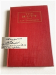 "1925 SIGNED BY A.W. TILLINGHAST BOOK ""THE MUTT"" AND OTHER GOLF YARNS - FIRST EDITION"