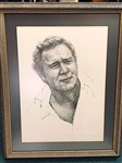 ARNOLD PALMER SIGNED LTD. ED. PRINT No. 91/1000 BY PAUL MILOSEVICH