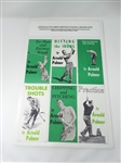 ARNOLD PALMER COLLECTION OF 6 INSTRUCTIONAL BOOKLETS