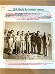 "ORIGINAL 1936 ""ASSOCIATED PRESS PHOTO"" FROM THE PGA CHAMPIONSHIP HELD AT PINEHURST CC"