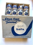 ORIGINAL DOUG FORD BOX WITH 4 SLEEVES 12 GOLF BALLS