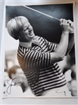 "AUTOGRAPHED PHOTO JACK NICKLAUS PHOTO 11"" X 14"""