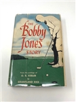 "SIGNED BY ELENOR KEELER WIFE OF O.B. KEELER IN 1953, AUTHOR OF"" THE BOBBY JONES STORY"", FIRST ED."