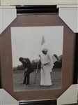 "HISTORICAL EUROPEAN PHOTO ARCHIVES, WEDDING PARTY. FRAMED SIZE 24"" X 28"""